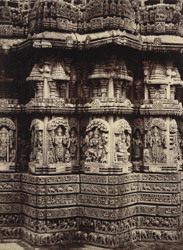 Details of carvings, Prasanna Chenna Kesava Temple, Somnathpur